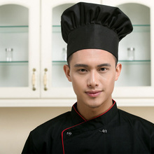2017 Free Shipping High quality chef Hat hotel uniform chef uniform  restaurant Hat cook uniform chef working wear Food Service