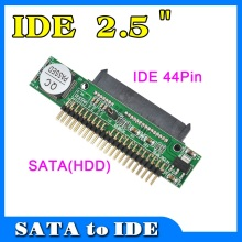 2015 Sata To IDE 2.5 Sata Female To 2.5 inch IDE Male 40 Pin Port 1.5Gbs Support ATA 133 100 HDD CD DVD Serial Adapter Converter