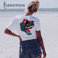 Tshirts Cotton Women Short Sleeve Harajuku Top Casual T Shirt Women Funny Printed Summer T Shirt Women New Arrivals 2019(China)