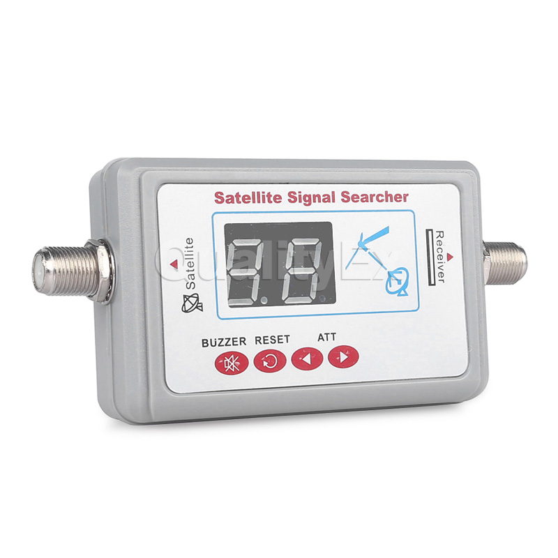 Digital Satellite Finder Meter Satlink WS6903 WS-6903 Displaying Audio Signal Receiver Direct LCD Buzzle for TV Dish Systems(China (Mainland))