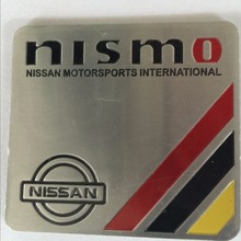 1pcs NEW Car-Styling 3D Aluminum Universal Car Sticker Styling accessories Metal Sticker For NISMO  NIssan motorsports