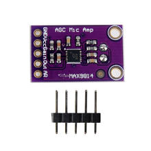 WS16 MAX9814 Electret Microphone AGC amplify amplifier Module Auto Gain Control CMA-4544PF-W VGA For Arduino Connector