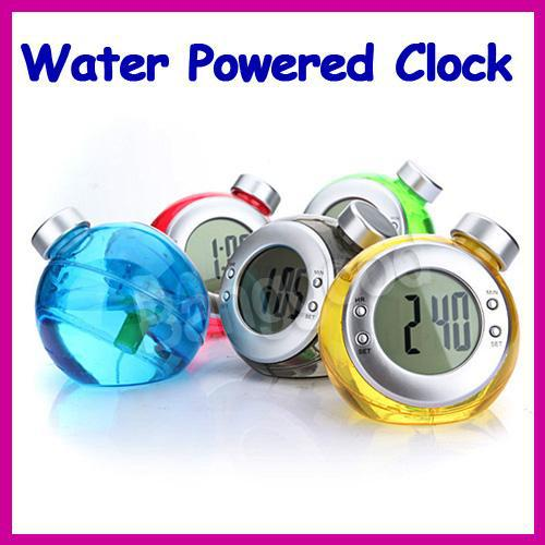 Creative environmental protection,Low-carbon,Magical hydrodynamic clock,Drink clocks,Water Powered Clocks,Don't need electricity(China (Mainland))