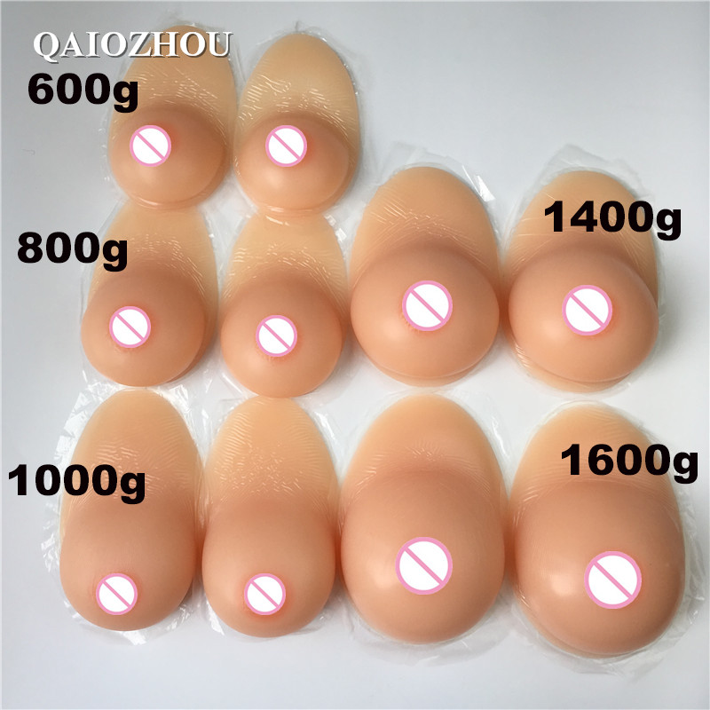 size choice fake boobs
