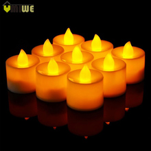 24pcs LED Tea Light Candles Householed led Battery Operated Flameless Candles Church Home Holiday Party Wedding Xmas Decorative
