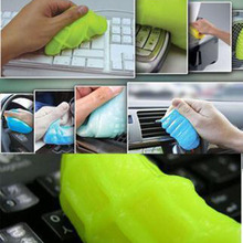1Pcs Super Magic Dust Cleaner Compound of Slimy Gel Wiper  for Cleaning Dirt Keyboard Laptop, Shoes,Surface of Household Items
