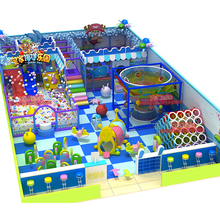 NEW soft indoor playground castle toy for children factory manufacturer YLW-IN17007A