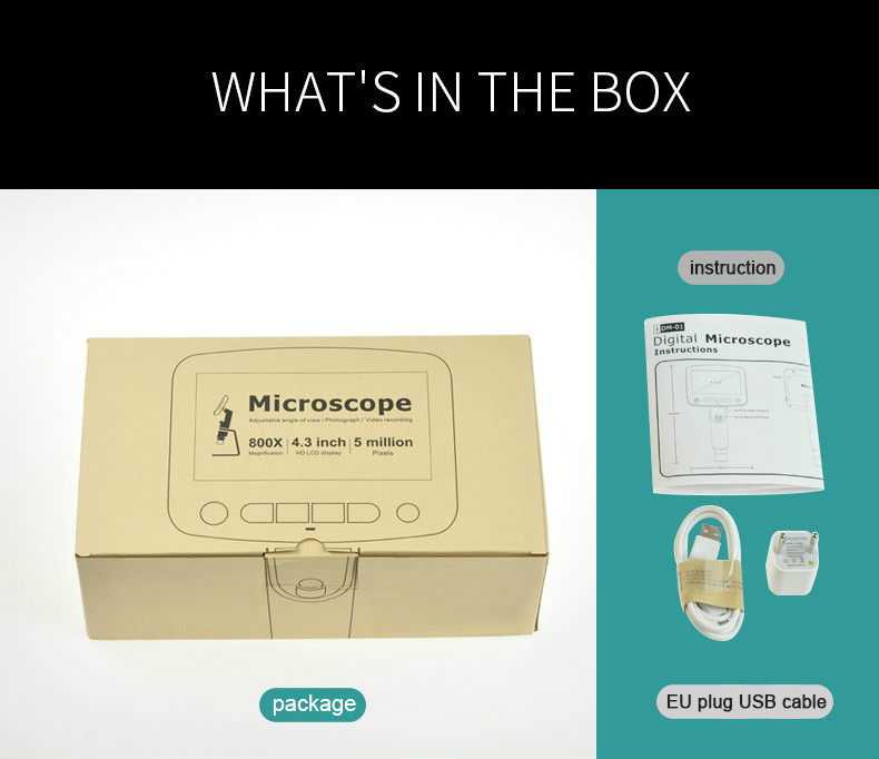 Digital USB LCD Microscope
