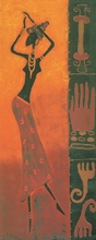Abstract African woman painting print on canvas Classical decoration supply decor craft art painting
