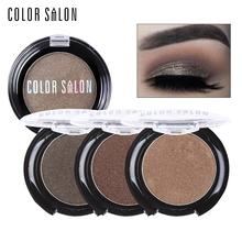 Color Salon Shimmer Eyeshadow Pressed Powder Palette 2.7g Natural Glitter Eye Shadow Makeup 24 Colors Professional Cosmetic