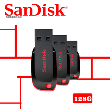 SanDisk CZ50 USB flash drive 128GB USB Pen Drives 32GB 64GB 8GB 16GB USB 2.0 memory stick PenDrive Support Official Verification