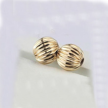 Acrylic earrings findings neaklace bracelet bowknot making beads cell lanyard charms Corrugated Striped spacer beads Connector