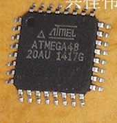 ATMEGA48-20AU QFP32 New home furniture specializing in single chip microcomputer-XJDZ2