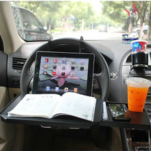 Third generation drawer car desk computer table table with ipad card slot 340*300*40mm(China)