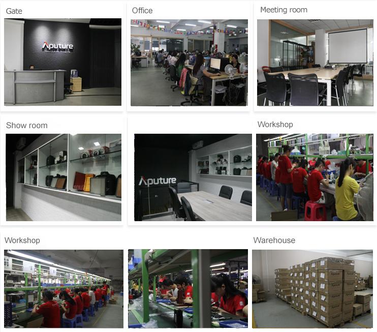 Aputure AL-M9 TLCI/CRI95+ CE & Rohs approved COB SMD pocket size on camera light