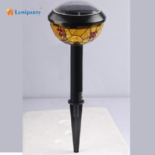 Lumiparty Solar Power Butterfly Colored Drawing Lawn Lamp energy-efficient low-maintenance solar landscape lights