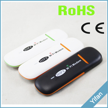 Free Shipping! ufi gsm 2g 3g usb wifi modem router for Vehicle WIFI sharing similar to huawei E355