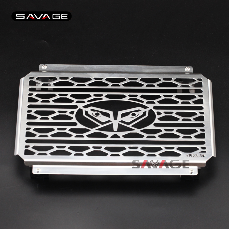 For YAMAHA YZF-R25 YZF-R3 MT-25 MT-03 2015-2016 Motorcycle Engine Radiator Bezel Cover Protector Radiator Guard Cover Grill  <br>