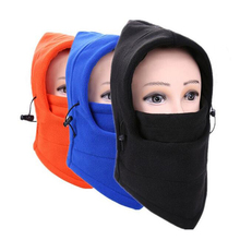 Hot Winter Outdoor Warm Tactical Fleece Hat Balaclava Neckwear Multifunction Hood Thermal Face Mask Collar Motorcycle Ride Gator