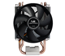 cheaper, 90mm fan, 2 heatpipe, side-blown, for Intel LGA775 1150 115x, FM1 AM2 AM3 FM2, CPU cooler, CoolerBoss CAH-209-03