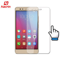 hacrin Huawei Honor 5X tempered glass 9H High Quality Screen Protector Film For Huawei Honor 5X Cell Phone
