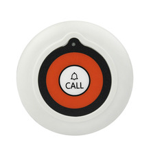 TIVDIO Waterproof Pager Button White Wireless Restaurant Hotel Waiter Call Transmitter Button Call Pager Paging System F3224(China)
