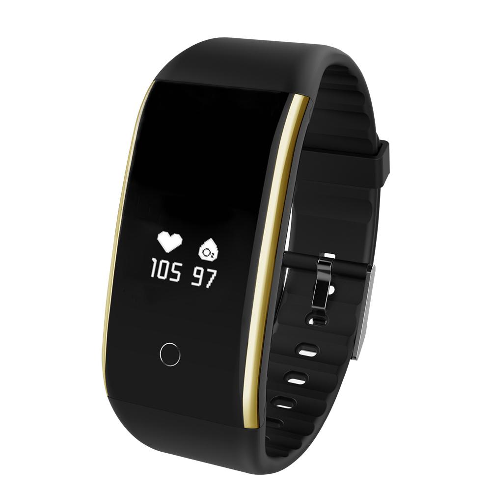 Waterproof Android Pedometer + Blood Pressure & Heart Rate Monitor Wrist Watch 25