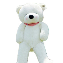 New Big Plush Toys Giant Bear Large Soft Toy Stuffed White Bear Valentine Day Birthday Kids Gift Plush Toy Sleepy Bear 100 CM