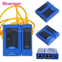Network Cable Tester RJ45 RJ11 RJ12 CAT5 CAT6 UTP USB Lan Wire Ethernet Test Hot #G205M# Best Quality