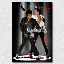Giclee fine art prints Michael Jackson picture painting for home decoration wall art gift for friends