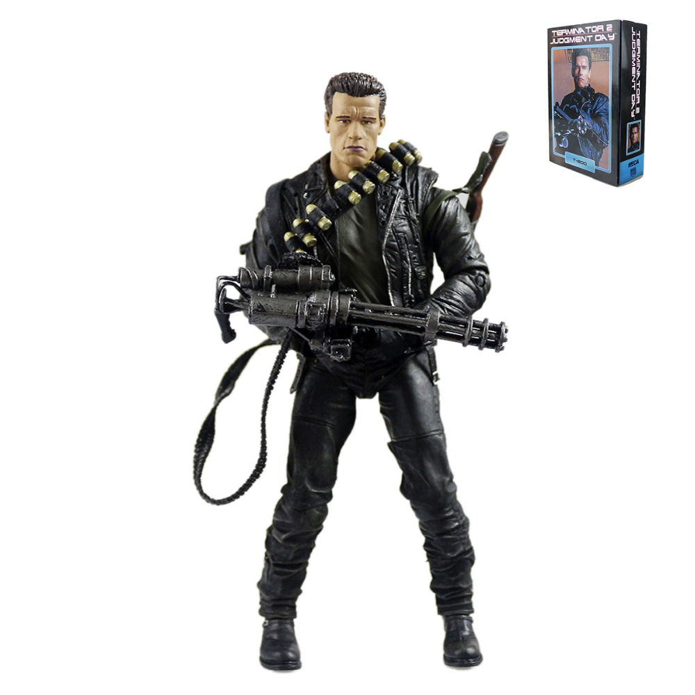 Terminator 2 T2 Judgment Day T-800 7 Action Figure Free Shipping<br>