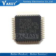 1PCS STM32F103C8T6 LQFP48 32F103C8T6 QFP48 QFP ARM new and original IC free shipping