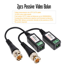 1 Channel Passive Video Balun Transceiver BNC to UTP CAT5 Cable CCTV Accessories(China)