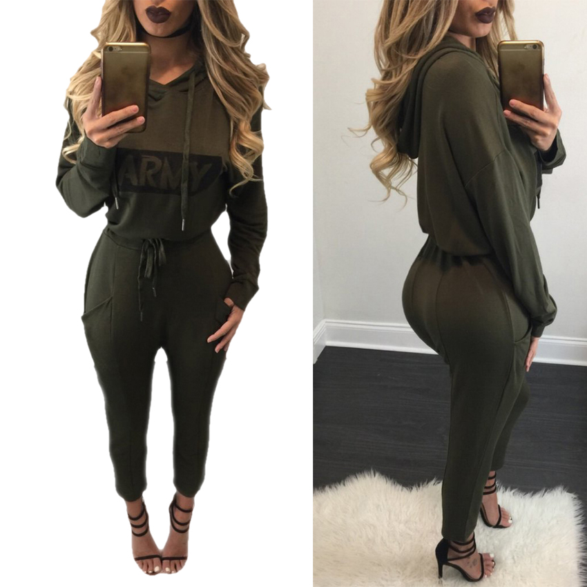 Long Sleeve Cropped Hoodies Sexy Rompers Womens Jumpsuit Bodycon Jumpsuit Macacao Full Length Jumpsuits Overalls Fenty Harajuku