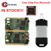 Quality A+++ Diagnostic Interface Tool For Renault Can Clip V168 With Full Chip CYPRESS AN2135SC OR AN2136SC Chips Renault Clip(China)