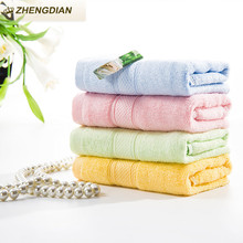 Zhengdian 100% cotton toalths super absorbent bathroom beach products Soft air permeability Quick-Dry High Quality plain towels