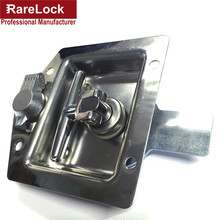 Rarelock Security Truck Lock Bus Lock Stailess Steel Professional Manufacture Locks Bus,Truck,Cabinet,Box With Handle g(China)