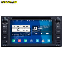 Newest Car Styling 800*480 Quad Core 16G 6.2'' Pure Android 4.4.4 Stereo Radio Car DVD Player for Toyota Corolla GPS Navigation