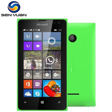 "Original Microsoft Lumia 435 Dual-core 8GB ROM 1GB RAM mobile phone 4.0"" WIF GPS Free shipping(China)"