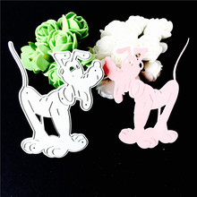 2017 Metal cutting dies dog for Scrapbooking album invitation home decoration embossing stencils cut dies