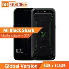 Global version Xiaomi Black Shark Gaming Phone 8GB 128GB Snapdragon 845 2160*1080 Full Screen 4000mAh Liquid Cooling UFS2.1