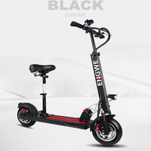 "2017 NEW Electric Scooter10""Aluminum Foldable electric bike 36V18A Lithium Battery 500W for Adults and Children electric bicycle"