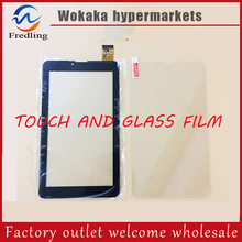 "Tempered glass screen Protector+New For 7"" Irbis TZ709 3G Tablet Touch Screen Touch Panel glass Sensor Digitizer Replacement(China)"