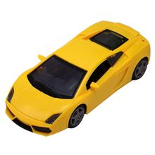 CL Fun Collectible Car Models 1:32 Yellow Alloy Diecast Car Model Toy Vehicles  Pull Back Car Gift for Kids