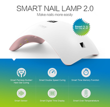 2017 New Smart 48W SUN8 Fast Dry UV LED Lamp Beauty Nail Dryer for Curing Nail Polish Gel Nail Art Automatic Hand Sensor(China)