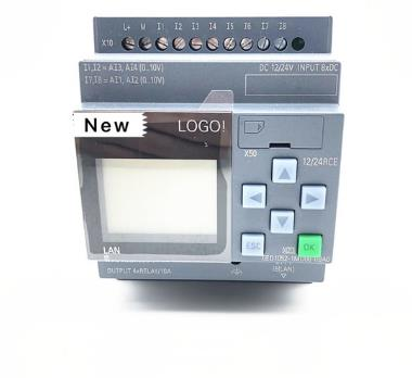 12/24rce-Plc Display-Module 6ED1 LOGO 6ED1052-1MD08-0BA0 DC/RELAY with 4AI New Original title=