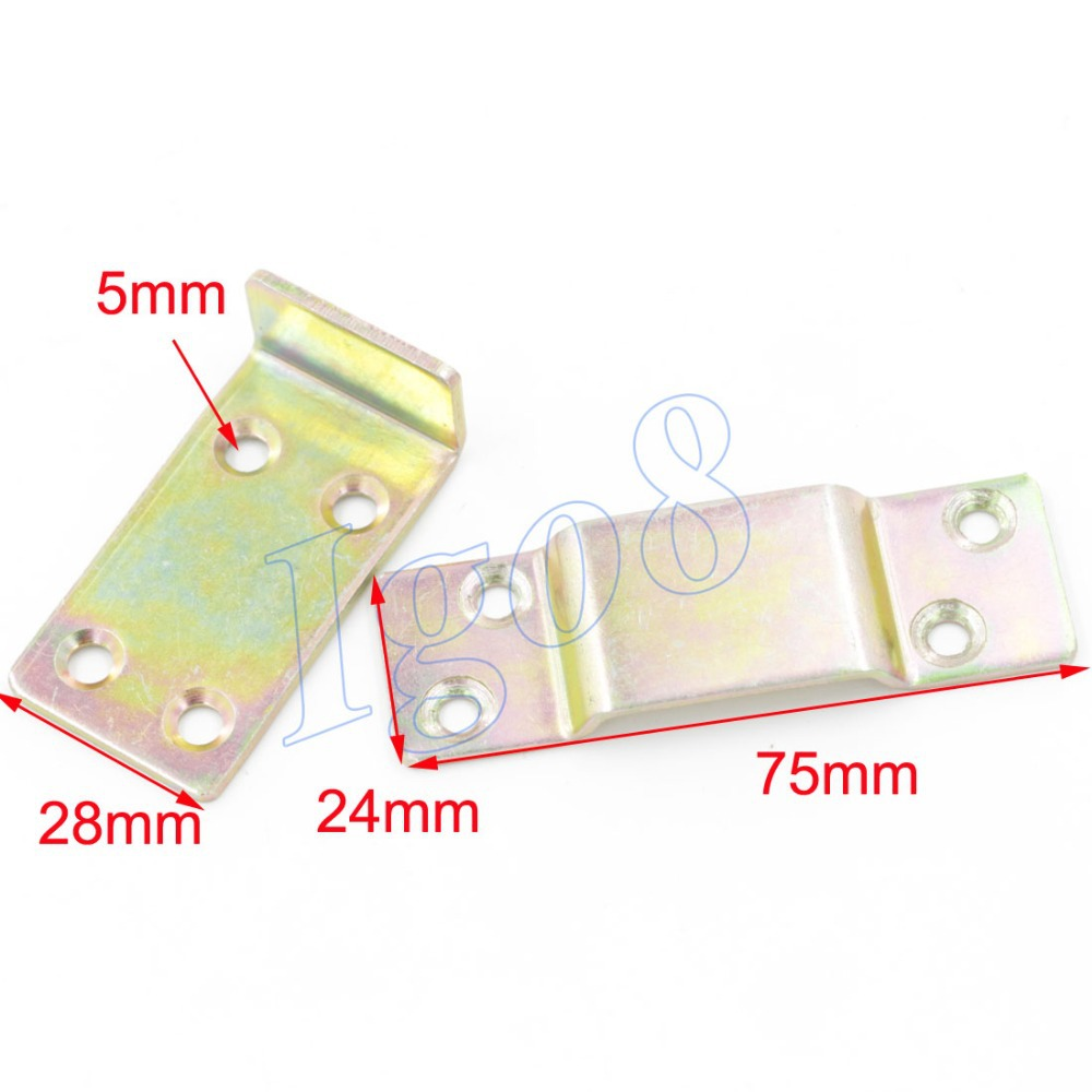 75mm Length Bed Hinge Connection Furniture Buckle 4PCS<br><br>Aliexpress