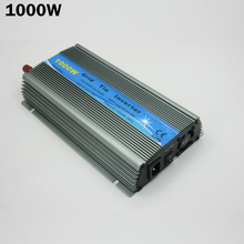 1000W MPPT on grid solar inverter,10.5-28V DC,120V AC pure sine wave micro solar inverter on grid,CE
