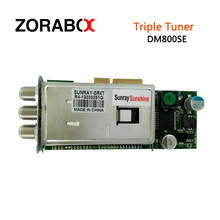 original tuner dvb-s2+c+t2 3 in 1 triple tuner for combo receiver for SR4 estarbox triple, sunray triple, 800se triple,(China)