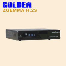 1PC Zgemma Star H.2S Satellite receiver Two DVB-S2 DVB S2 Tuner enigma 2 linux OS Zgemma-star H.2S Full HD satellite receiver